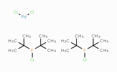 725745-08-4 | Dichlorobis(chlorodi-tert-butylphosphine)palladium(II)