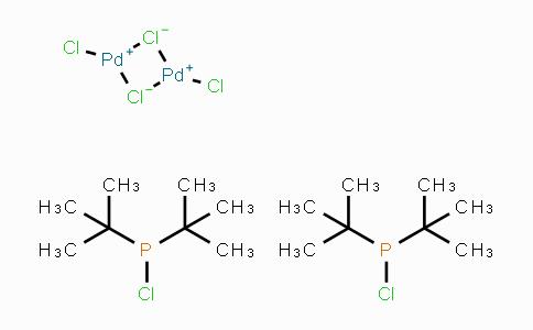 386706-33-8 | Dichloro[di-tert-butyl(chloro)phosphine]palladium(II) Dimer