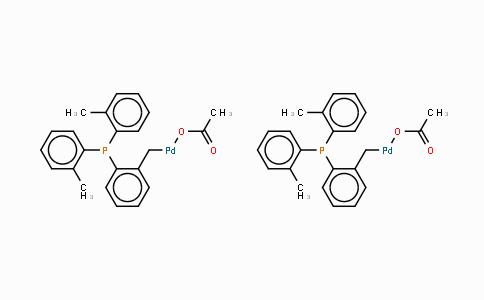 172418-32-5 | trans-Bis(acetato)bis[2-[bis(2-methylphenyl)phosphino]benzyl]dipalladium(II)