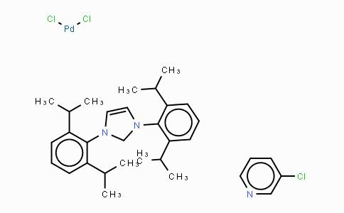 905459-27-0 | [1,3-Bis(2,6-Diisopropylphenyl)imidazol-2-ylidene](3-chloropyridyl)palladium(II) dichloride