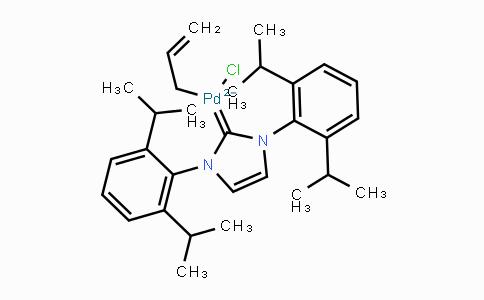 478980-03-9 | Allyl[1,3-bis(2,6-diisopropylphenyl)imidazol-2-ylidene]chloropalladium(II)