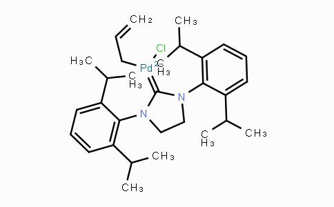 MC444937 | 478980-01-7 | Allyl[1,3-bis(2,6-diisopropylphenyl)-2-imidazo lidinylidene]chloropalladium(II)
