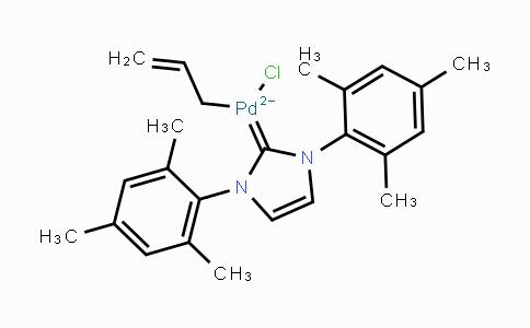 MC444938 | 478980-04-0 | 烯丙基[1,3-双(均三甲苯基)咪唑-2-亚基]氯化钯(II)