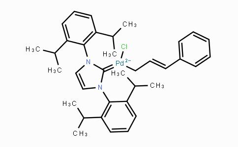 884879-23-6 | [1,3-Bis(2,6-diisopropylphenyl)imidazol-2-ylidene]chloro[3-phenylallyl]palladium(II)