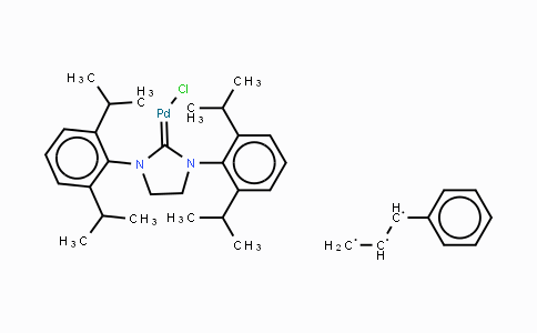 884879-24-7 | [1,3-Bis(2,6-di-isopropylphenyl)-4,5-dihydroimidazol-2-ylidene]chloro][3-phenylallyl]palladium(II)