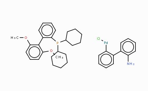 1375325-64-6 | Chloro(2-dicyclohexylphosphino-2',6'-dimethoxy-1,1'-biphenyl)[2-(2'-amino-1,1'-biphenyl)]palladium(II)