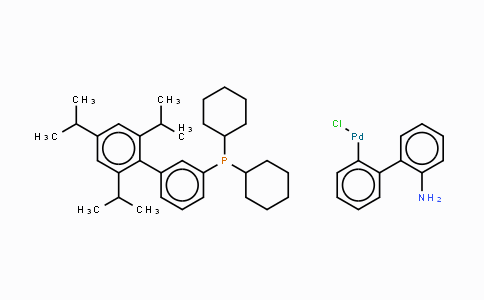 1310584-14-5 | Chloro(2-dicyclohexylphosphino-2',4',6'-triisopropyl-1,1'-biphenyl)[2-(2'-amino-1,1'-biphenyl)]palladium(II)