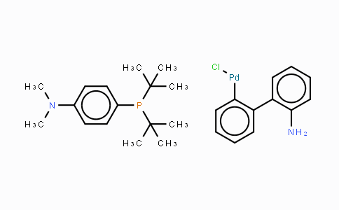 Chloro[4-(di-tert-butylphosphino)-N,N-dimethylaniline-2-(2'-aminobiphenyl)]palladium(II)