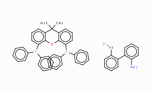 MC444951 | 1375325-77-1 | Chloro[(4,5-bis(diphenylphosphino)-9,9-dimethyl xanthene)-2-(2-amino-1,1-biphenyl)]palladium(II)