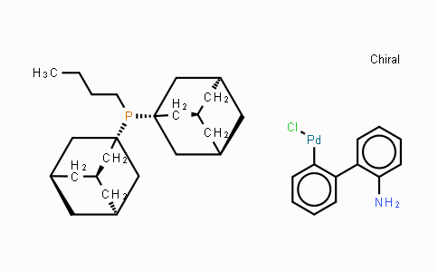 MC444952 | 1375477-29-4 | Chloro[(di(1-adamantyl)-N-butylphosphine)-2-(2-aminobiphenyl)]palladium(II)