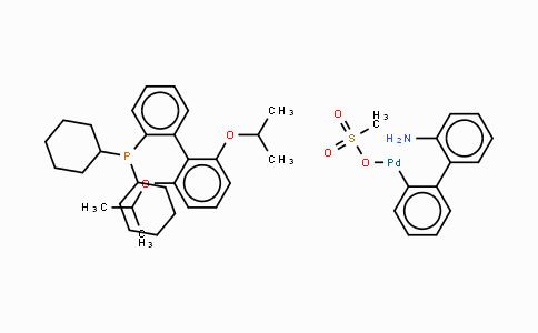 1445085-77-7 | Methanesulfonato(2-dicyclohexylphosphino-2',6'-di-i-propoxy-1,1'-biphenyl)(2'-amino-1,1'-biphenyl-2-yl)palladium(II)