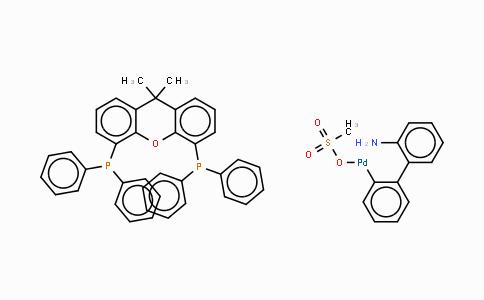 1445085-97-1 | Methanesulfonato[4,5-Bis(diphenylphosphino)-9,9-dimethylxanthene](2'-amino-1,1'-biphenyl-2-yl)palladium(II)
