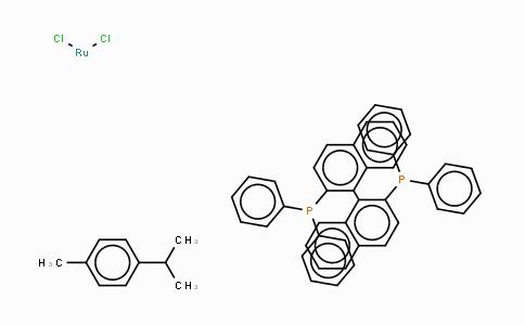 MC444979 | 145926-28-9 | Chloro[(R)-(+)-2,2'-bis(diphenylphosphino)-1,1'-binaphthyl](p-cymene)ruthenium(II) Chloride