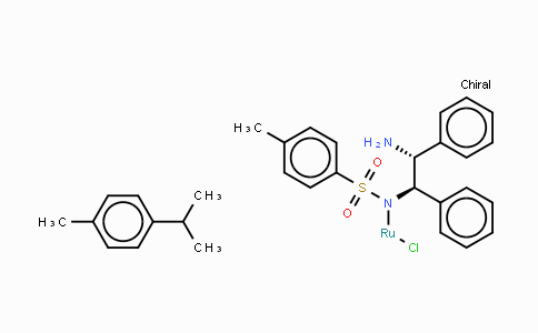 192139-92-7 | Chloro{[(1R,2R)-(-)-2-amino-1,2-diphenylethyl](4-toluenesulfonyl)amido}(p-cymene)ruthenium(II)