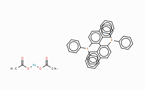 261948-85-0 | Diacetato[(S)-(−)-2,2'-bis(diphenylphosphino)-1,1'-binaphthyl]ruthenium(II)