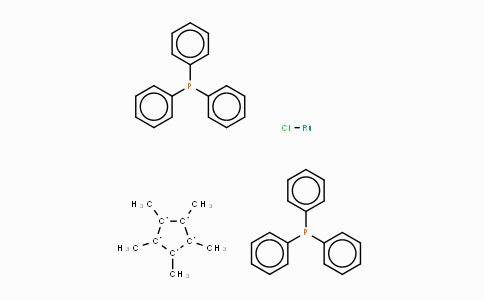 92361-49-4 | Pentamethylcyclopentadienylbis(triphenylphosphine)ruthenium(II) chloride