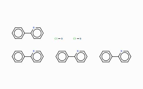 92220-65-0 | Dichlorotetrakis(2-(2-pyridinyl)phenyl)diiridium(III)