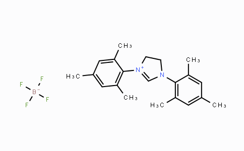 245679-18-9 | 1,3-Bis(2,4,6-trimethylphenyl)-4,5-dihydroimidazolium tetrafluoroborate