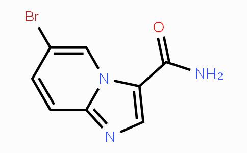 2044706-79-6 | 6-bromoimidazo[1,2-a]pyridine-3-carboxamide