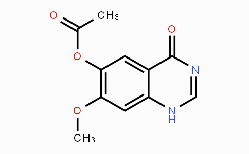 179688-53-0 | (7-methoxy-4-oxo-1H-quinazolin-6-yl) acetate