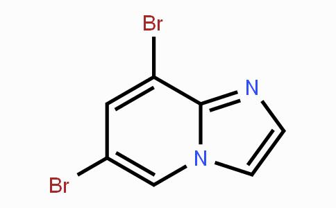 MC445137 | 1202450-63-2 | 6,8-二溴咪唑并[1,2-a]吡啶