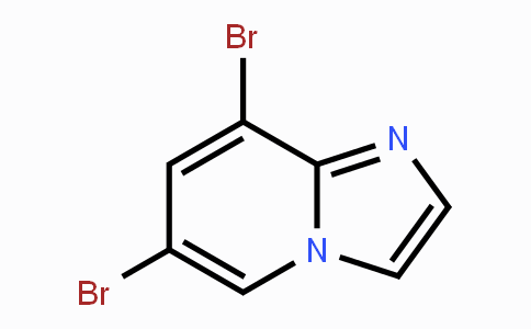 1202450-63-2 | IMidazo[1,2-a]pyridine, 6,8-dibroMo-