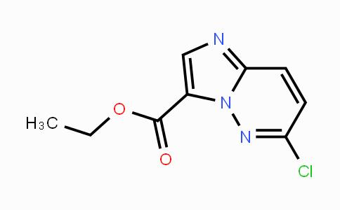 1150566-27-0 | 6-Chloro-iMidazo[1,2-b]pyridazine-3-carboxylic acid ethyl ester