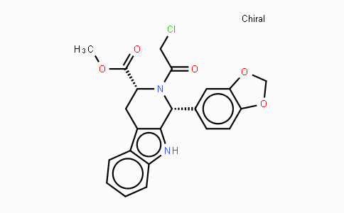 171489-59-1 | (1R,3R)-METHYL-1,2,3,4-TETRAHYDRO-2-CHLOROACETYL-1-(3,4-METHYLENEDIOXYPHENYL)-9H-PYRIDO[3,4-B]INDOLE-3-CARBOXYLATE
