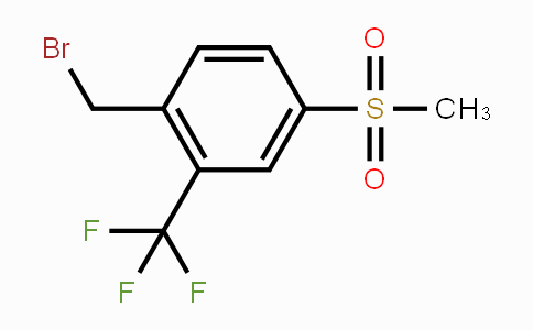 934557-65-0 | 2-(Bromomethyl)-5-(methylsulphonyl)benzotrifluoride