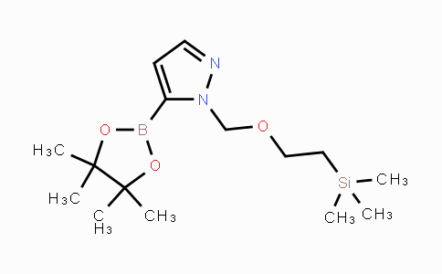 903550-12-9 | 1-(2-Trimethylsilanylethoxymethyl)-1H-pyrazole-5-boronic acid pinacol ester