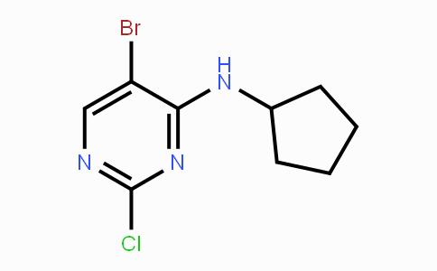 733039-20-8 | 5-Bromo-2-chloro-N-cyclopentylpyrimidin-4-amine