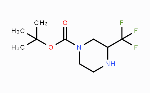 886779-69-7 | tert-butyl 3-(trifluoromethyl)piperazine-1-carboxylate