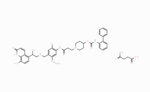 MC445255 | 945905-37-3 | Batefenterol succinate