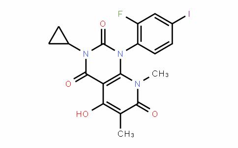 871700-24-2 | 3-Cyclopropyl-1-(2-fluoro-4-iodophenyl)-5-hydroxy-6,8-dimethylpyrido[2,3-d]pyrimidine-2,4,7(1H,3H,8H)-trione