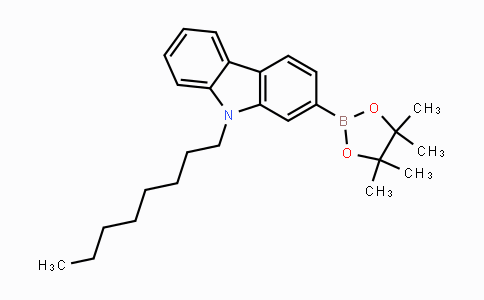 MC446500 | 793681-93-3 | 9-Octyl-2-(4,4,5,5-tetramethyl-1,3,2-dioxaborolan-2-yl)-9H-carbazole