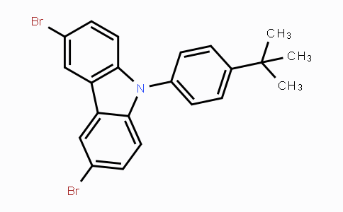 MC446519 | 741293-42-5 | 3,6-Dibromo-9-(4-tert-butyl-phenyl)-9H-carbazole