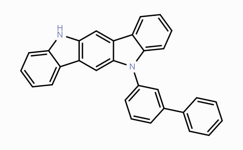 DY446533 | 5-([1,1'-biphenyl]-3-yl)-5,11-dihydroindolo[3,2-b]carbazole