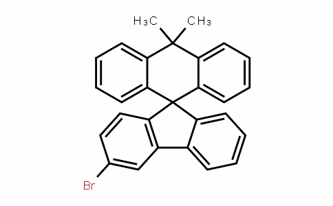 MC446565 | 2170533-42-1 | 9'-[9H]芴],3'-溴-10,10-二甲基-螺[9(10H)-蒽]