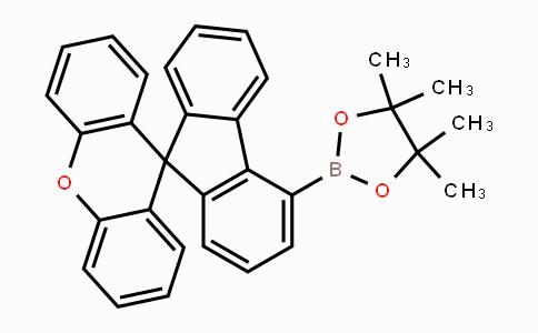 1609484-75-4 | Spiro[9H-fluorene-9,9'-[9H]xanthene], 4-(4,4,5,5-tetramethyl-1,3,2-dioxaborolan-2-yl)-