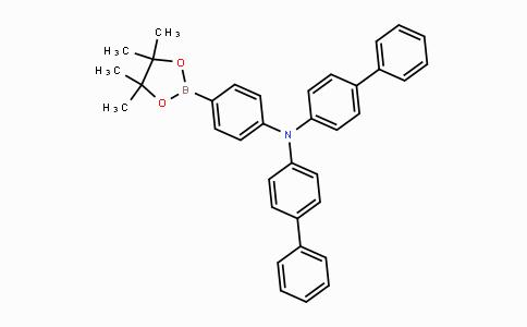 952431-30-0 | 双(联苯-4-基)[4-(4,4,5,5-四甲基-[1,3,2]二氧杂环戊硼烷-2-基)苯基]胺