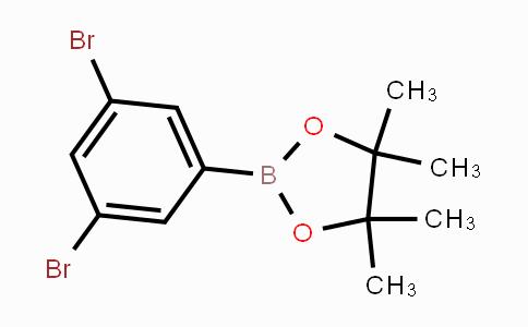 408492-26-2 | 2-(3,5-Dibromophenyl)-4,4,5,5-tetramethyl-1,3,2-dioxaborolane