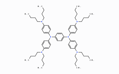MC446636 | 4182-80-3 | N,N,N',N'-四(4-二丁基氨基苯基)-1,4-苯二胺