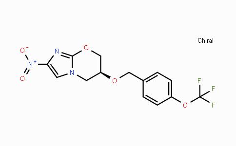 187235-37-6   PA-824;(S)-6,7-二氢-2-硝基-6-[[4-(三氟甲氧基)苯基]甲氧基]-5H-咪唑并[2,1-B][1,3]恶嗪