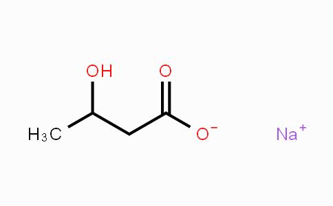 150-83-4 | DL-3-Hydroxybutyric acid, sodium salt