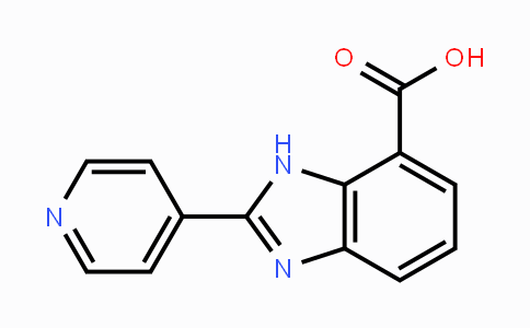 DY446846 | 124340-93-8 | 2-PYRIDIN-4-YL-3H-BENZOIMIDAZOLE-4-CARBOXYLIC ACID