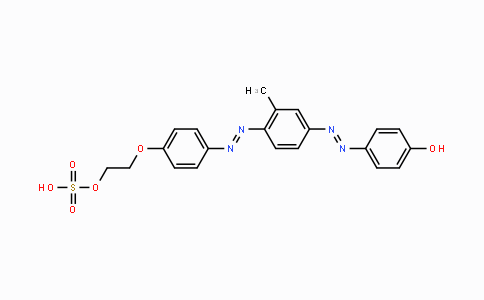 MC446859 | 543-07-2 | p-[[3-methyl-4-[[4-[2-(sulphooxy)ethoxy]phenyl]azo]phenyl]azo]phenol