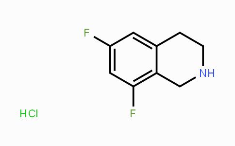 874942-09-3   6,8-difluoro-1,2,3,4-tetrahydroisoquinoline hydrochloride