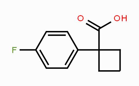 151157-46-9 | 1-(4-fluorophenyl)cyclobutanecarboxylic acid