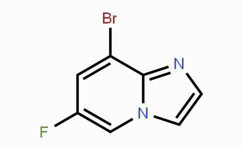 1368664-08-7 | 8-bromo-6-fluoroimidazo[1,2-a]pyridine