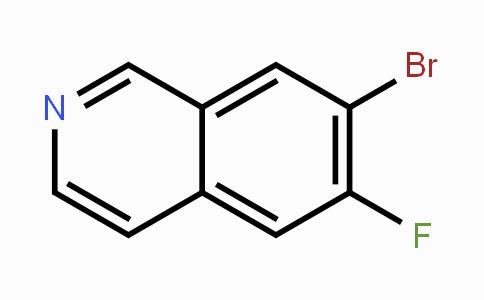 923022-40-6 | 7-bromo-6-fluoroisoquinoline